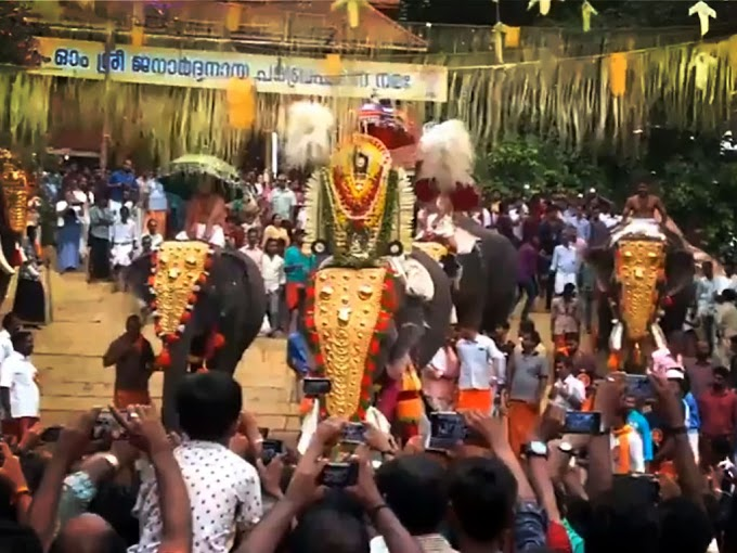 10 day' Malayalam month of Meenam began at the world famous Lord Ayyappa temple