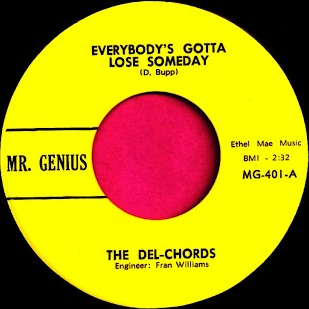 THE DEL-CHORDS (PRE- MAG MEN)