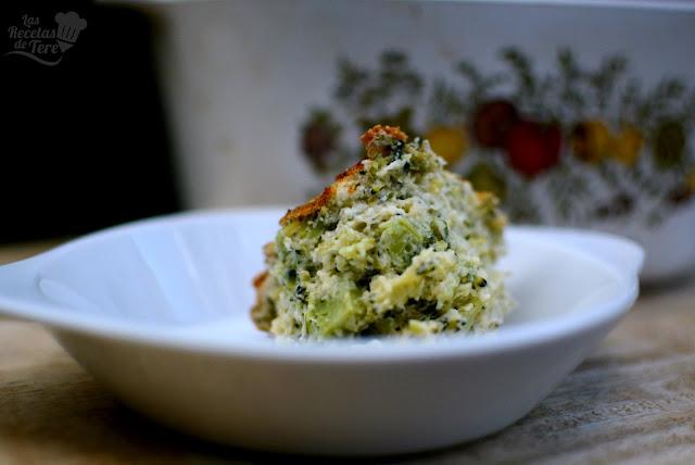 Soufflé de brócoli 03