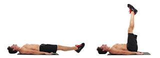 elevacion de piernas abdominales