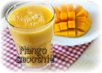 Ricetta fitness per fare il frullato al mango