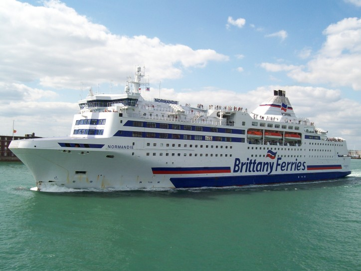 Two Crewmembers Injured After Electrical Fire on Board French Ferry Normandie