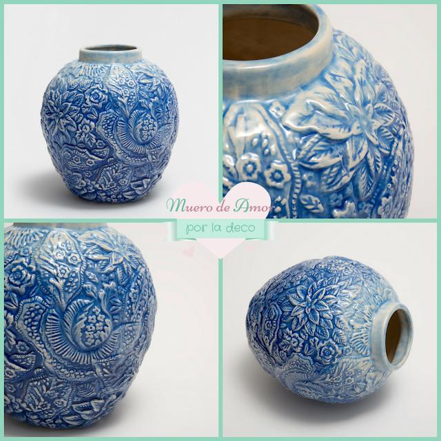 Jarrones Azules para Decorar tu Casa-Zara Home-By Ana Oval-8
