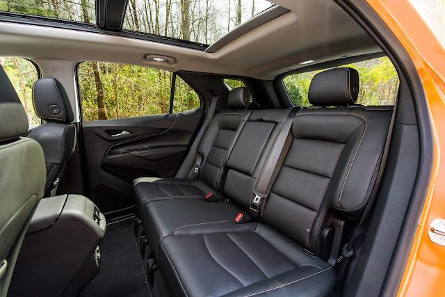 Chevrolet Equinox 2018 - Brasil  - interior