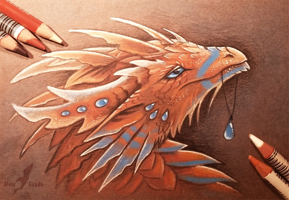 11-Raindrop-Alvia-Alcedo-Dragon-and-other-Mythical-Fantasy-Drawings-www-designstack-co