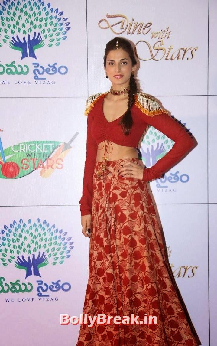 Shilpa Reddy Pics, Shilpa Reddy Navel Pics in Red Hot Dress