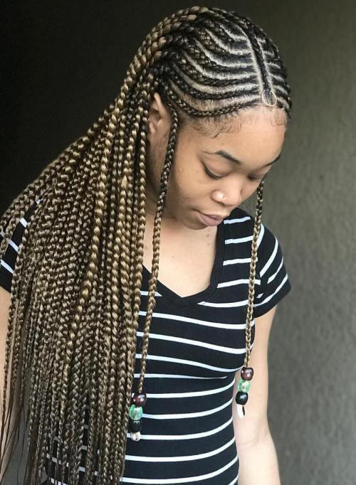 49 Latest Fulani Braids Hairstyles 2018 You Will Love