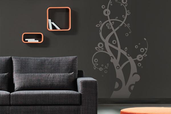 Decorando dormitorios originales vinilos para decorar tu - Vinilo para decorar ...