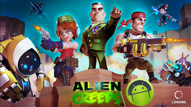 Download Alien Creeps TD Mod Apk Unlimited Money