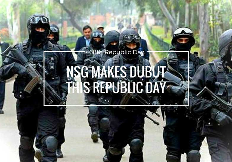 nsg debut republic day 2017