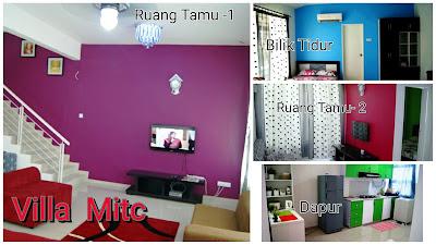 Villa Mitc - 4 bilik aircond & 4 bilik air