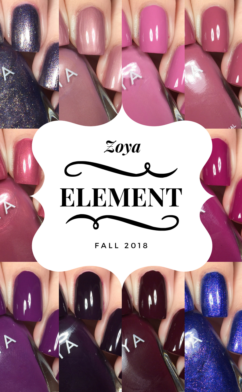 Zoya Element Fall 2018 Collection