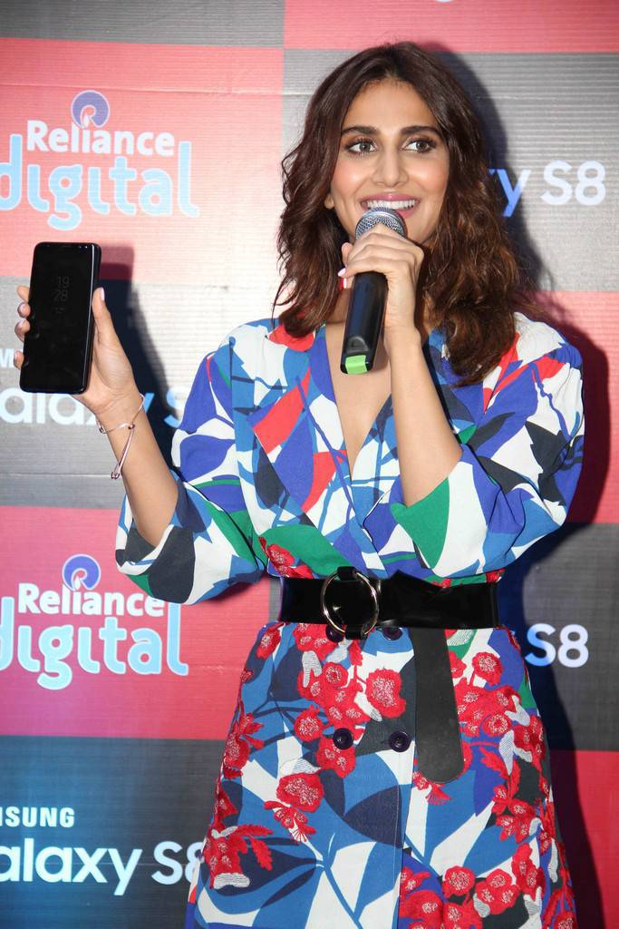 Vaani Kapoor At Samsung Galaxy S8 Launch Event Gallery