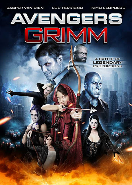 Poster Avengers Grimm 2015 Full Movie Download 300MB Dual Audio