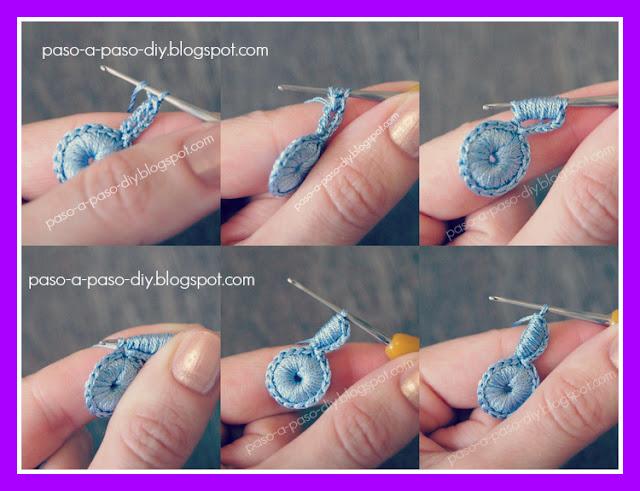 cómo tejer al crochet una linda flor