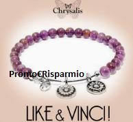 Logo Basta solo 1 click per vincere un Bracciale Chrysalis : Like & Vinci