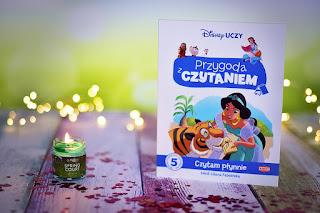 """Liliana Fabisińska - """"Disney Uczy. Przygoda z Czytaniem. Czytam płynnie 5 z serii Przygoda z czytaniem. - 5 z serii Przygoda z Czytaniem"""" książki dla dzieci #19"""