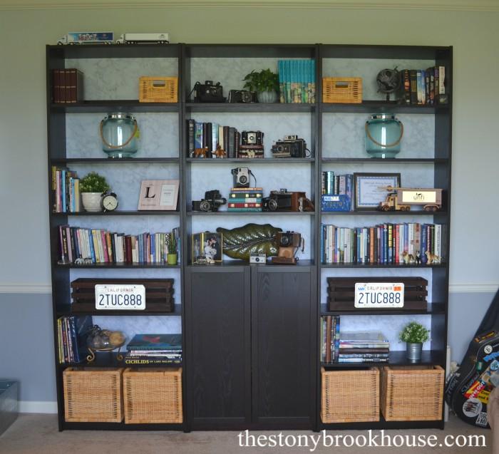 Complete Vintage Bookcase