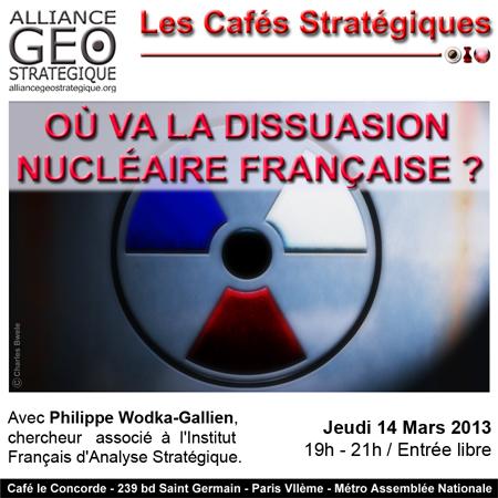 dissuasion nucléaire française