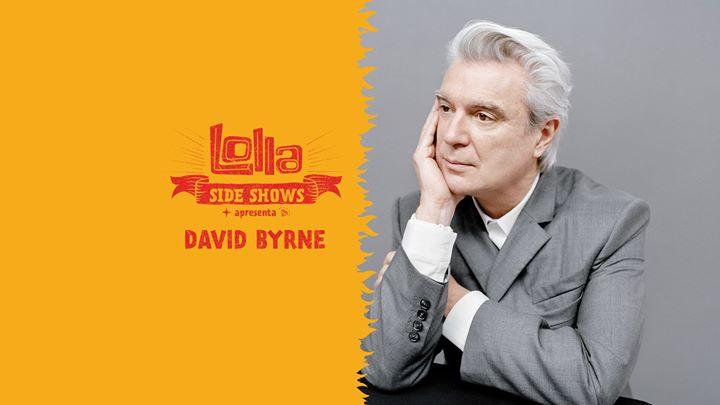 Nesta quinta-feira(29), o Km de Vantagens Hall recebe o sideshow do  Lollapalooza Brasil 2018 com apresentação do ex-Talking Heads, David Byrne. 1a73f31992
