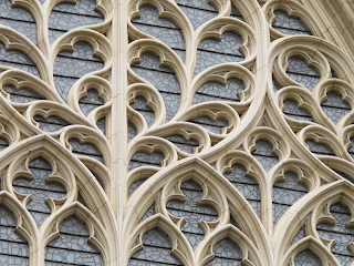 York Minster's stone tracery