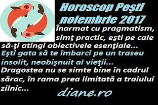 Horoscop noiembrie 2017 Peşti