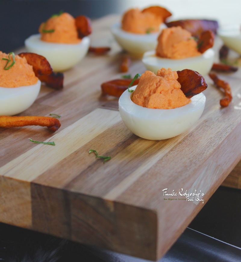 Boiled eggs plantain canapes funke koleosho 39 s new for Buy canape shells