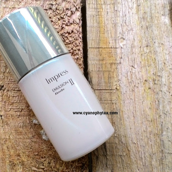 Review Kanebo Impress Emulsion II  Moisturizer