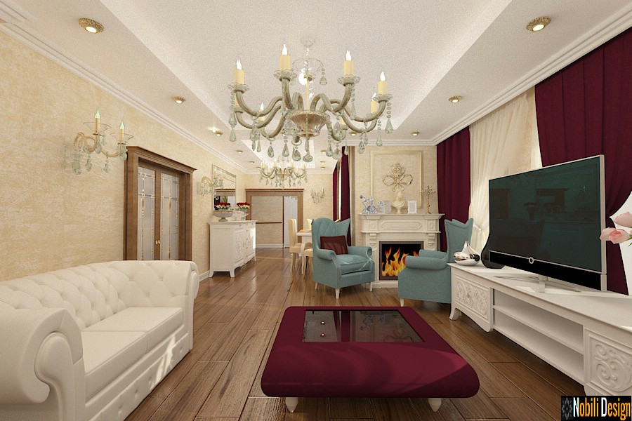 Amenajari interioare case stil clasic in Bucuresti