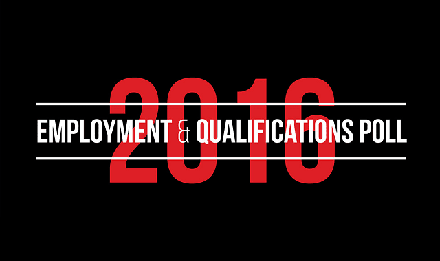 2016 Employment and Qualifications Poll