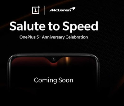 ONEPLUS 6T MCLAREN F1 EDITION release December in india