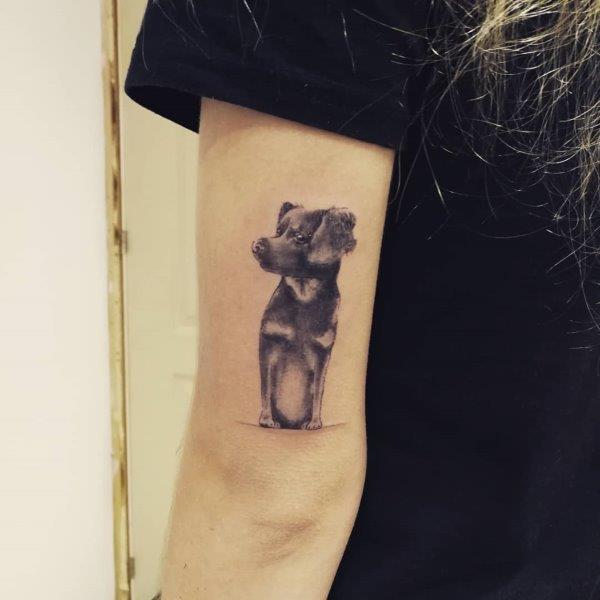 East-European shepherd Tattoo