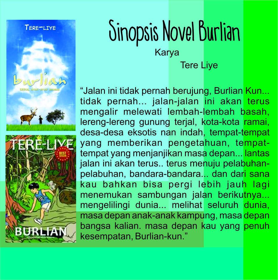 Sinopsis Novel Burlian Karya Tere Liye Lilis Sujianto