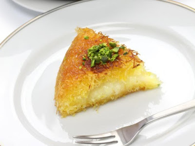 Try our recipe for a tremendous taste of Kunafa With Cream Kunafa With Cream - Othamnliya Recipe