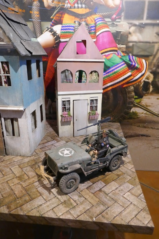 Welcome to Marwen WWII village model jeep