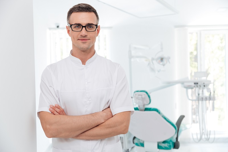 Dental Unit Used by Dentist