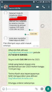 Testimoni CUG Telkomsel Kartu Pasangan Kartu Komunitas Kartu Soulmate Kartu Couple 31 Oktober 2018 5