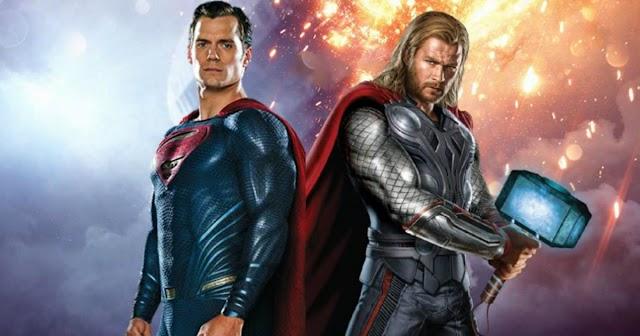 Di Komik JLA/Avengers, Thor Melawan Superman. Siapa yang Menang?