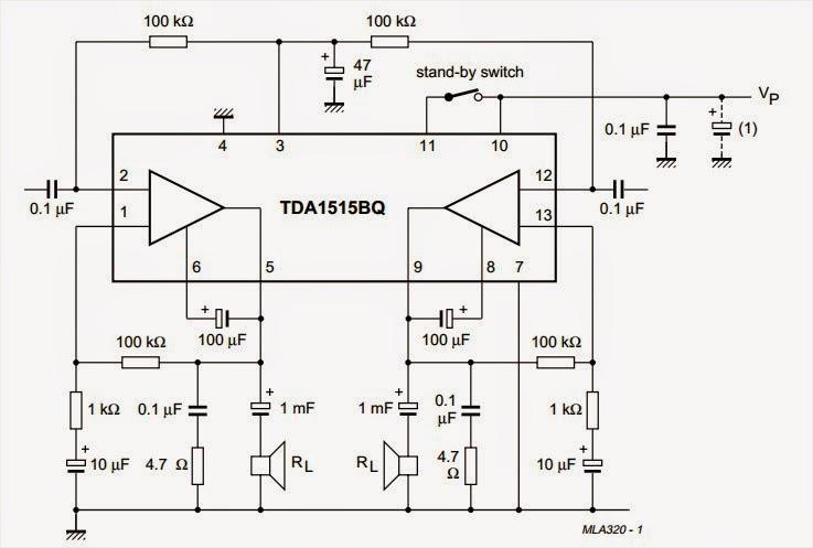 Car Audio Power Amplifier Circuit Diagram - Wiring Diagrams Schematics
