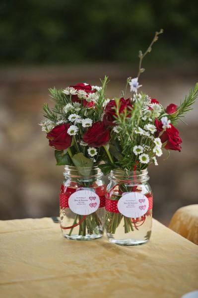 Gil Potes de vidro de conserva, na decoraç u00e3o, organizaç u00e3o, vasos, faça voc u00ea mesmo! -> Decoração De Vidros De Conserva Com Eva