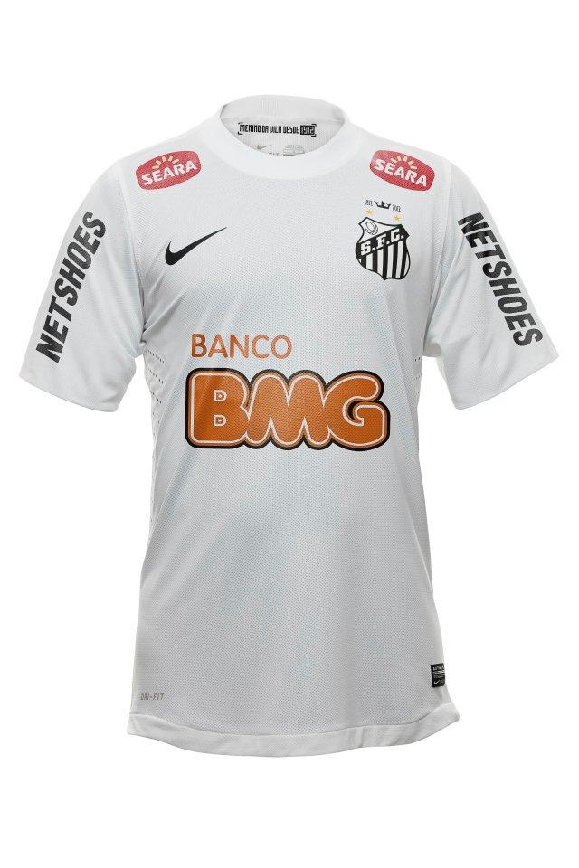 Camisa do Santos Nike Temporada 2012  a5e2a2b904f6f