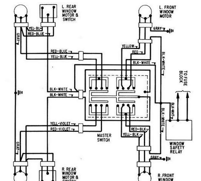 windows wiring diagram for 1965 ford thunderbird all about wiring