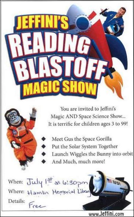 7-1 Hamlin Library Magic Show, Smethport