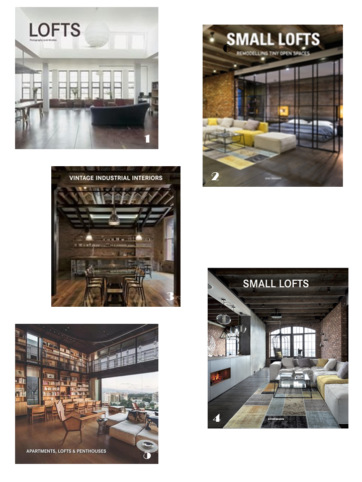 industrial loft interiors style books