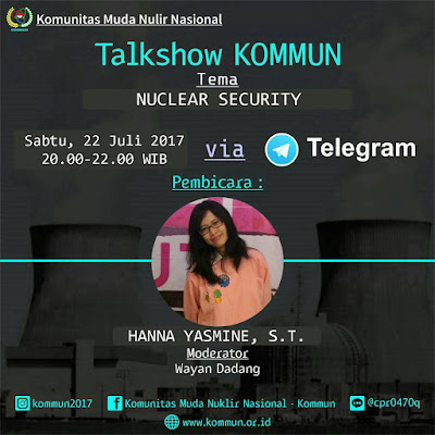 Talkshow Online: Nuclear Security