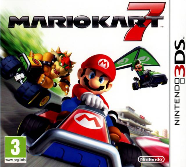 descargar Mario Kart 7 Nintendo 3DS