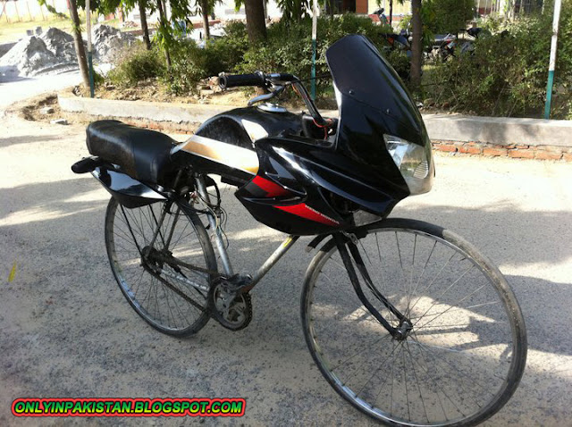Funny Pakistani cycles