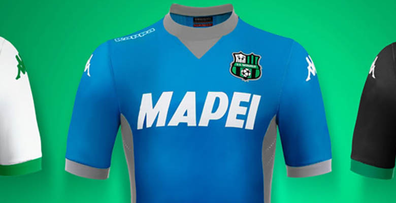 02a12114c7c ... made for the first time by new kit supplier Kappa. The new Sassuolo  15-16 Away and Third Kits were officially released on August 20.