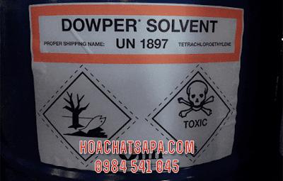 hoa chat giat kho Dowper Solvent