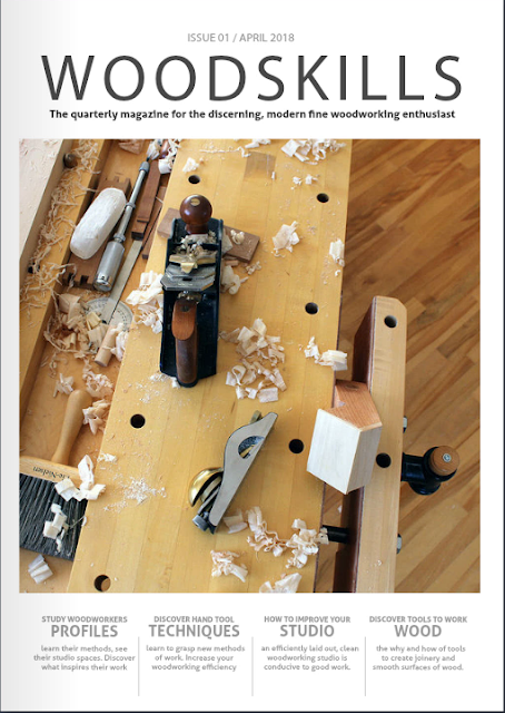 WOODSKILLS woodworking magazine cover